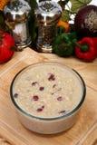 Oatmeal de Craisins Imagem de Stock Royalty Free