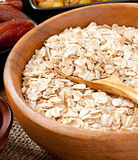 Oatmeal and dried fruits Royalty Free Stock Images