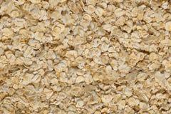 Oatmeal flakes background Stock Image