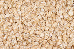 Oatmeal flakes close up Royalty Free Stock Image