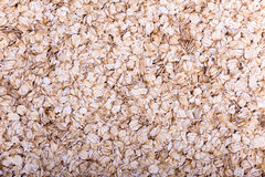 Oatmeal flakes. Close up as background Royalty Free Stock Photography
