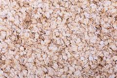 Oatmeal flakes Stock Photos