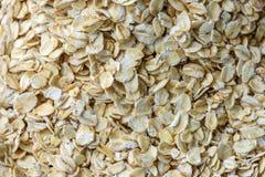 Oatmeal flakes closeup Stock Photography