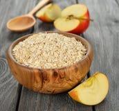 Oatmeal flakes Royalty Free Stock Photos