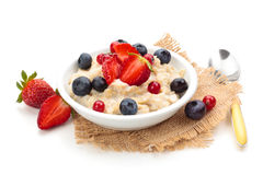 Oatmeal. royalty free stock photography