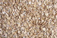 Oatmeal golden background Royalty Free Stock Photos