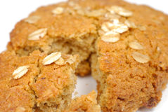Oatmeal Grain Cookie Pastry Royalty Free Stock Photography