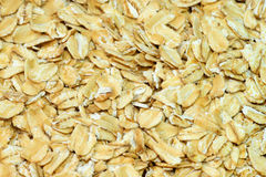 Oatmeal grains Stock Images