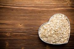 Oatmeal. Stock Photo