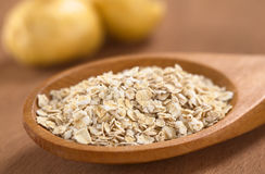 Oatmeal with Maca Royalty Free Stock Photography