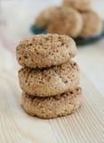 Oatmeal mini cookies Stock Photography