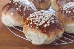 Oatmeal Molasses Bread Royalty Free Stock Photos