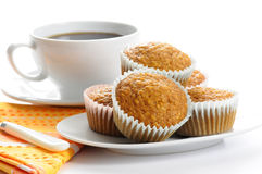 Oatmeal Muffins Stock Photography