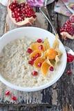 Oatmeal porridge Royalty Free Stock Photos