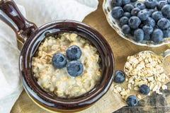 Oatmeal porridge Royalty Free Stock Images