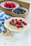 Oatmeal porridge Stock Image