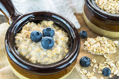 Oatmeal porridge Royalty Free Stock Photography