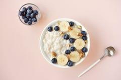 Oatmeal porridge Royalty Free Stock Photo