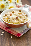 Oatmeal porridge stock images