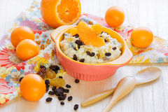 Oatmeal porridge. Royalty Free Stock Images