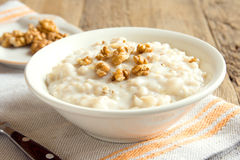 Oatmeal porridge Royalty Free Stock Photo