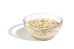 Oatmeal. Poured into the cup Royalty Free Stock Photos