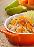 Oatmeal with pumpkin Stock Photography