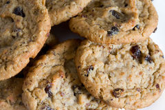 Oatmeal Raisin Cookie Stock Images