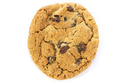 Oatmeal Raisin Cookie Over Stock Image