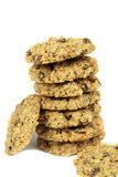 Oatmeal raisin cookies Stock Photography