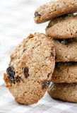 Oatmeal Raisin Cookies Royalty Free Stock Image
