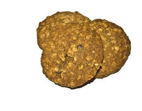 Oatmeal Raisin Cookies Royalty Free Stock Image
