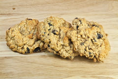 Oatmeal Raisin Cookies royalty free stock images