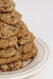 Oatmeal Raisin Cookies Royalty Free Stock Photography