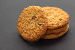 Oatmeal Raisin Cookies Royalty Free Stock Photo