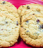 Oatmeal and Raisin Cookies Royalty Free Stock Photography
