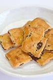 Oatmeal raisin cookies Stock Image