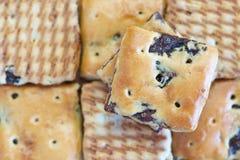 Oatmeal raisin cookies Stock Photography