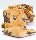 Oatmeal raisin cookies Royalty Free Stock Photography