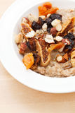 Oatmeal with raisins Royalty Free Stock Photo