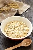 Oatmeal stock image