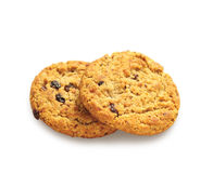 Oatmeal soft cookies Stock Image