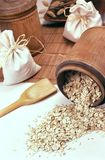 Oatmeal - still life Stock Photos