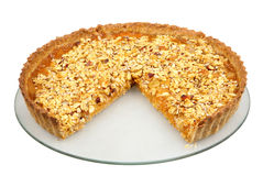 Oatmeal tart Royalty Free Stock Photos