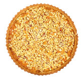 Oatmeal tart isolated Stock Photography
