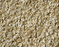 Oatmeal Texture. Close up of rolled oats Stock Photo