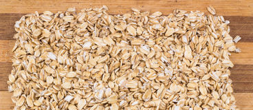 Oatmeal texture Stock Photo