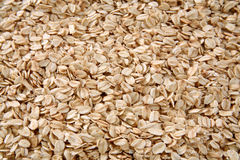 Oats. Background of oats cereals, top view Royalty Free Stock Image