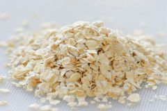 Oats. Health Oats Stock Images