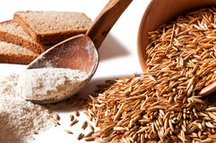 Oats And Flour Stock Images